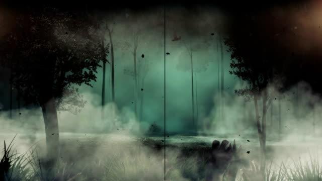 creepy animation with nice copyspace