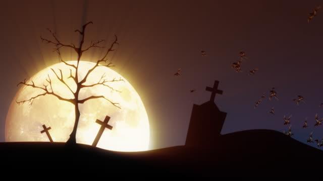 Creepy Scene For Halloween HD