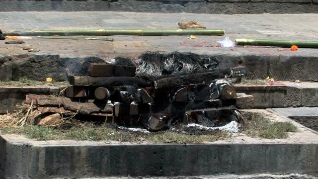 Cremation.