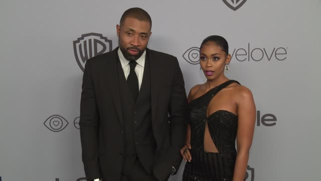 Cress Williams and Nafessa Williams at the Warner Bros Pictures and InStyle Host 19th Annual PostGolden Globes Party at The Beverly Hilton Hotel on...