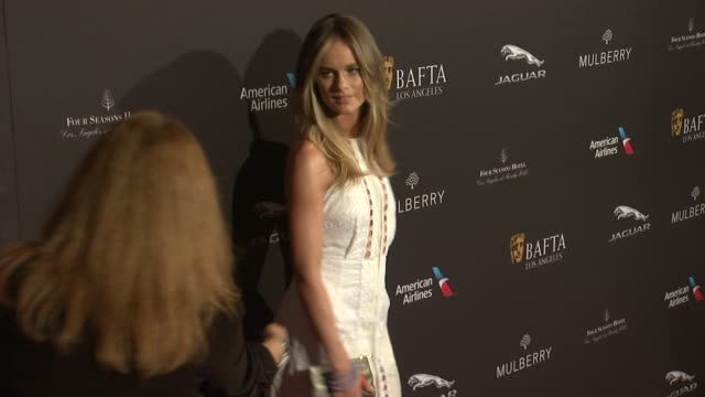 cressida bonas at the 2015 bafta los angeles tea party at the four seasons hotel on january 10 2015 in beverly hills california - cressida bonas stock videos and b-roll footage