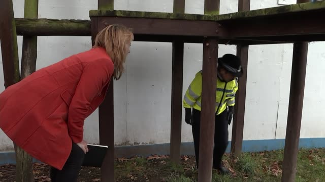 cressida dick horrified by knife crime statistics england london camden ext various of cressida dick taking part in weapons sweep pair of scissors... - shears stock videos & royalty-free footage