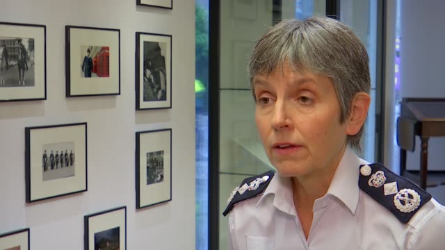 cressida dick interview about historical role of women in metropolitan police england london metropolitan police heritage centre int cressida dick... - cressida dick stock videos & royalty-free footage