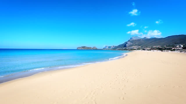 Crete beach. Greece