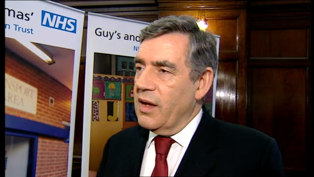 crewe and nantwich by-election: conservative victory; gordon brown mp interview sot - talks about understanding peoples concerns - ナントウィッチ点の映像素材/bロール