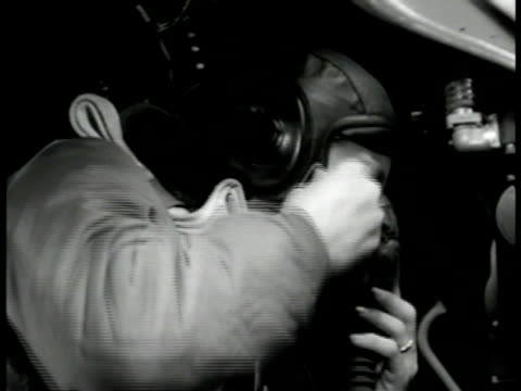 crewman putting on oxygen mask cu control panel showing dial oxygen flow indicator blinking pressure dial - oxygen mask stock videos & royalty-free footage