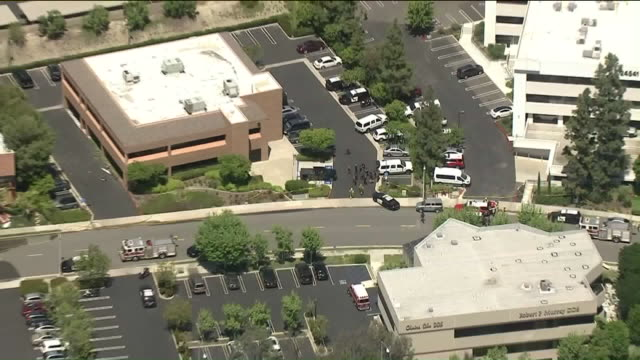 KTLA Crews evacuated an Aliso Viejo preschool after officials said a gas leak explosion in a nearby office building left one dead and three civilians...