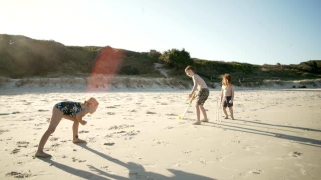 Cricket-am Strand