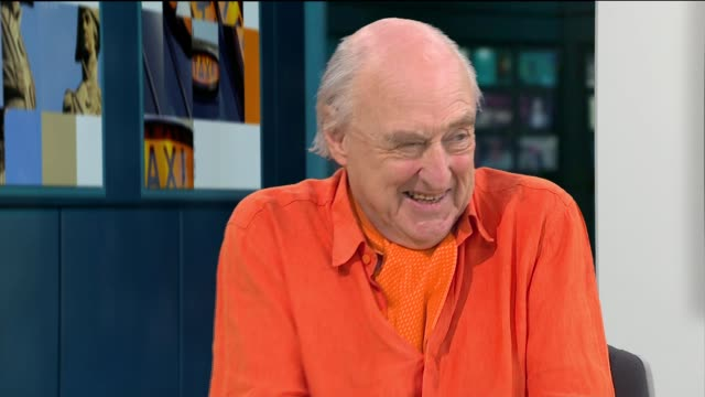 cricket commentator henry blofeld to retire after 45 years henry blofeld live studio interview sot - commentator stock videos & royalty-free footage