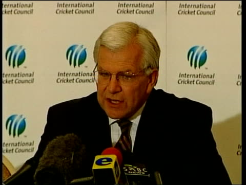 Cricket England v Zimbabwe match cancelled Armband protest Similar to News at Ten ITN SOUTH AFRICA Cape Town EXT MS England cricketers along next...