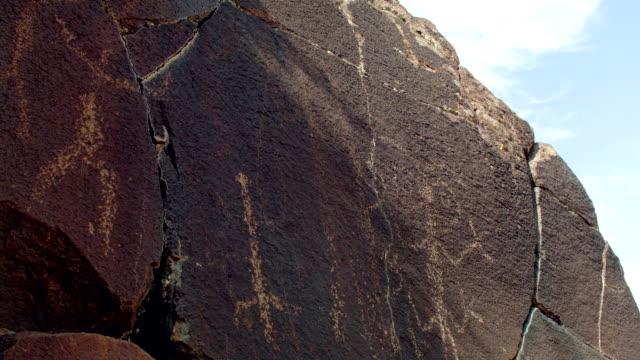 Cricket lizard people Ancient Native American Indian Rock Art at Petroglyph Lake Hart Mountain National Antelope Refuge 148