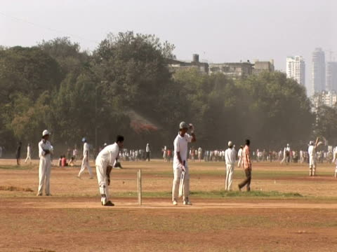 cricket match, mumbai, india - inning stock videos & royalty-free footage