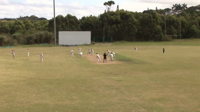 Cricket Match wicket - HD & PAL