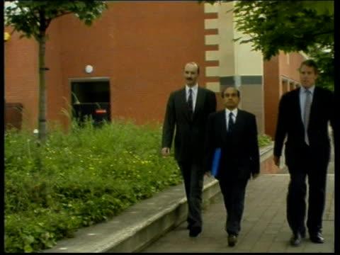 Anaesthetist Jailed for Manslaughter LIB ENGLAND Sheffield Sheffield Crown Court Dr Prabhakar Gadgil along towards past