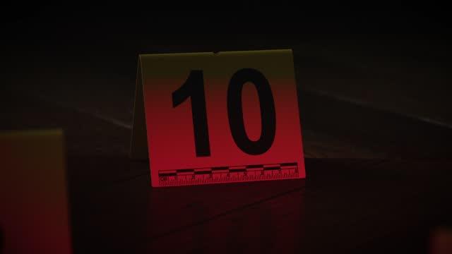 vidéos et rushes de preuve sur les lieux du crime numéro 10 - crime