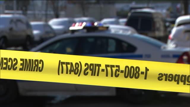 wpix crime scene investigation in new york city - criminal investigation stock videos & royalty-free footage