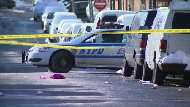 WPIX Crime Scene Investigation In New York City