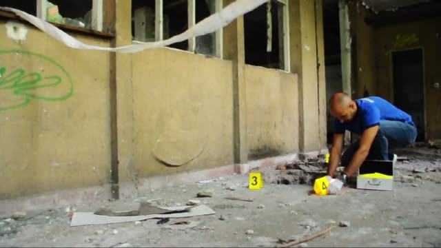 crime scene - forensic science stock videos & royalty-free footage
