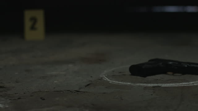 crime scene - gun crime stock videos & royalty-free footage