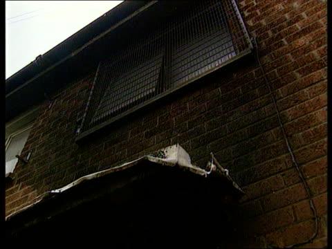 Crime/Terrorism 56th arson attack on family NORTHERN IRELAND Crime/Terrorism 56th arson attack on family NORTHERN IRELAND Belfast LA Grille over...