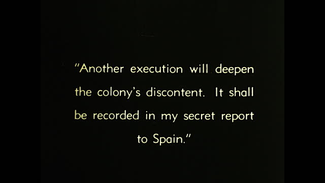 criminal being tied to guillotine by guards as spanish prisoner watches from the window; spanish prisoner writes down the execution in secret report... - execution by guillotine stock videos & royalty-free footage