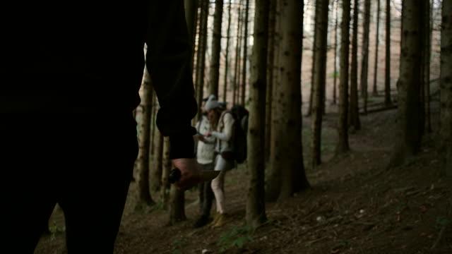 Criminal Chasing Hikers