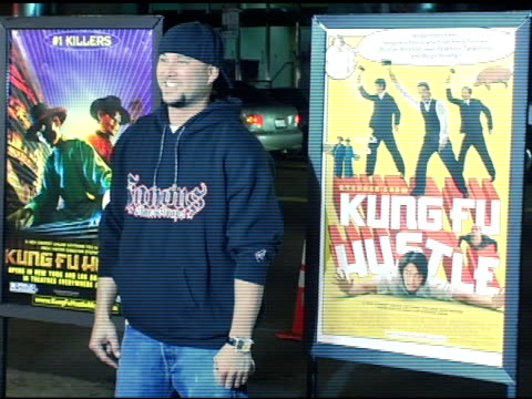 vídeos y material grabado en eventos de stock de cris judd at the 'kung fu hustle' los angeles premiere at arclight cinemas in hollywood, california on march 29, 2005. - arclight cinemas hollywood