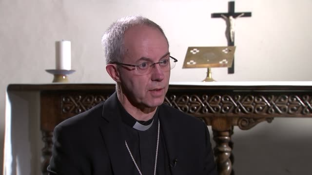 crisis charity warns that 1 in 4 homeless will spend christmas alone; england: kent: canterbury cathedral: int most reverend justin welby along... - canterbury cathedral stock videos & royalty-free footage