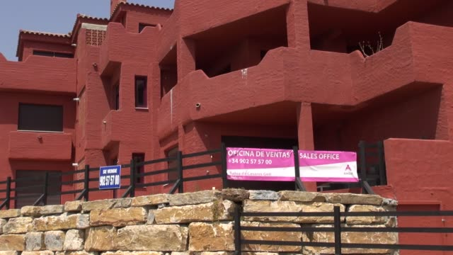 Crisis leaves over one million homes empty on the Costa del Sol Spanish Housing Crisis 2 at Manilva on July 29 2013 in Manilva Spain