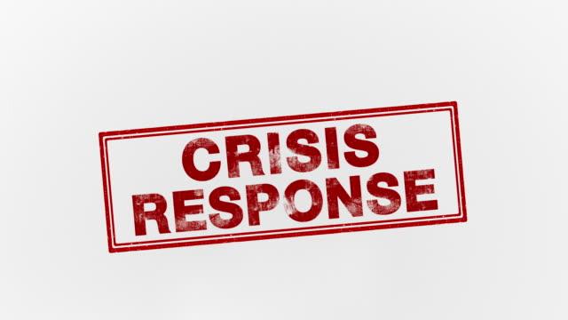 crisis response - seal stamp stock videos & royalty-free footage