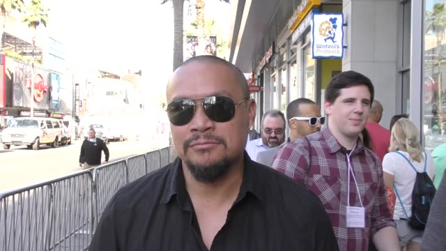 INTERVIEW Crispin Alapag talks about if Aaron Hernandez really committed suicide arriving to the Guardians Of The Galaxy 2 Premiere at Dolby Theatre...