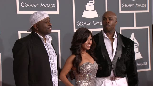 Cristal Clear Full Force at 54th Annual GRAMMY Awards Arrivals on 2/12/12 in Los Angeles CA