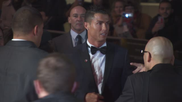 Cristiano Ronaldo at 'Ronaldo' UK Film Premiere at Vue West End on November 09 2015 in London England