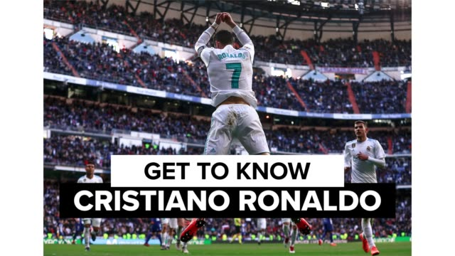 """cristiano ronaldo dos santos aveiro, better known as """"ronaldo"""" is widely considered among the greatest footballers of all time. get to know the... - portugal stock videos & royalty-free footage"""