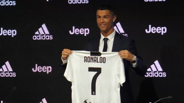 52c421c71 Cristiano Ronaldo says he s ready to try to win every title at his official  unveiling as