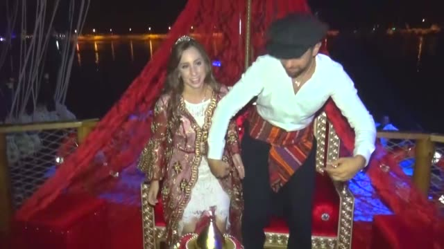 Cristiano Ronaldo's cousin Christine Grosso and Turkish executive Mehmet Guvener hold a henna night a traditional Turkish ceremony organized before...