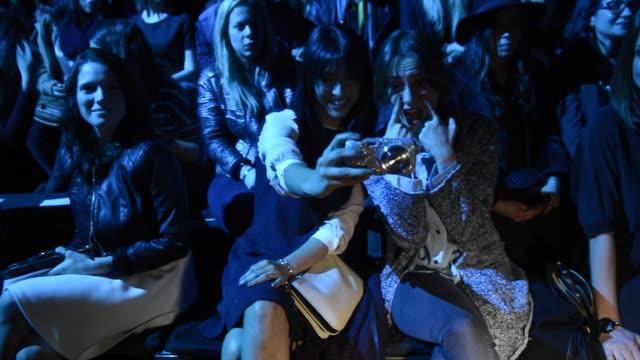 Cristina Brondo attends the Sita Murt fashion show at the '080 Barcelona Fashion Week Fall/Winter 2015' on February 2 2015 in Barcelona Spain