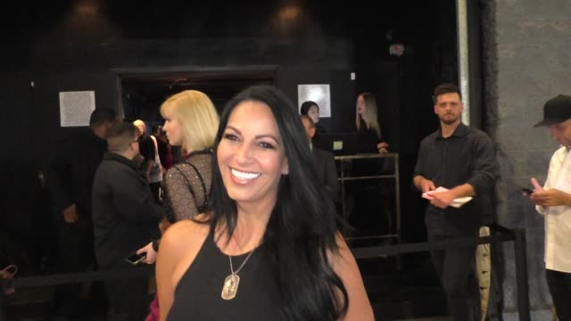 cristina coria talks about being shot in the line of duty outside the 4th annual babes in toyland event at academy in hollywood on july 24, 2019 at... - responsibility stock videos & royalty-free footage