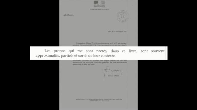 critics accused french president francois hollande of seeking to influence the judiciary on monday as his girlfriend went to court seeking damages... - literatur stock-videos und b-roll-filmmaterial