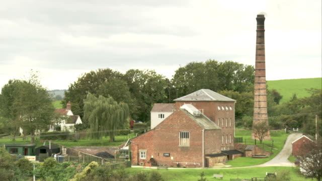 crofton pumping station. available in hd. - イングランド南西部点の映像素材/bロール