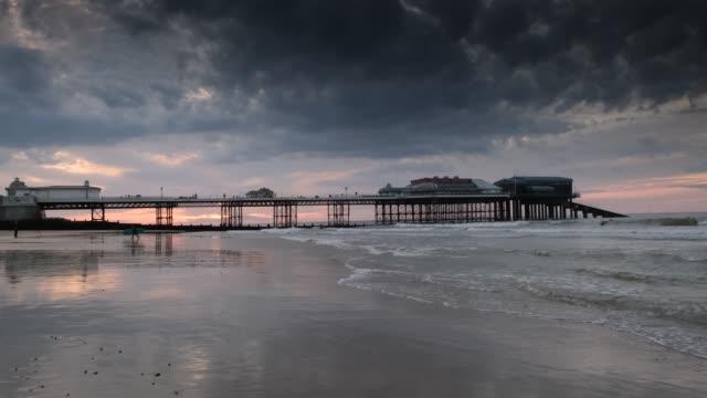 cromer beach - pier stock videos & royalty-free footage