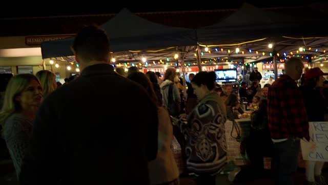 cronies bar & grill in agoura hills defies the restrictions for eating outdoors by holding a protest and violating all of the safety restrictions.... - bar drink establishment stock videos & royalty-free footage
