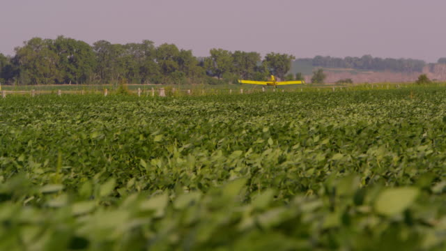 Crop Duster Plane at the Farm