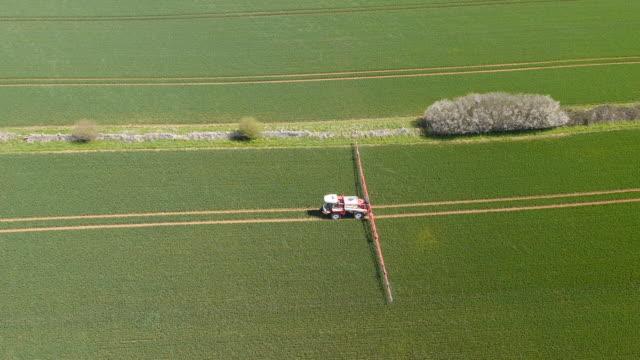 crop sprayer - spraying stock videos & royalty-free footage