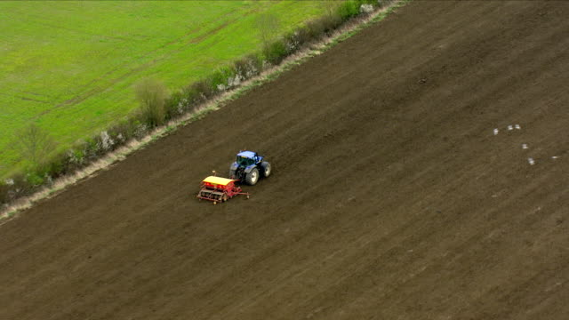 crops being harvested on a farm - soil stock videos & royalty-free footage