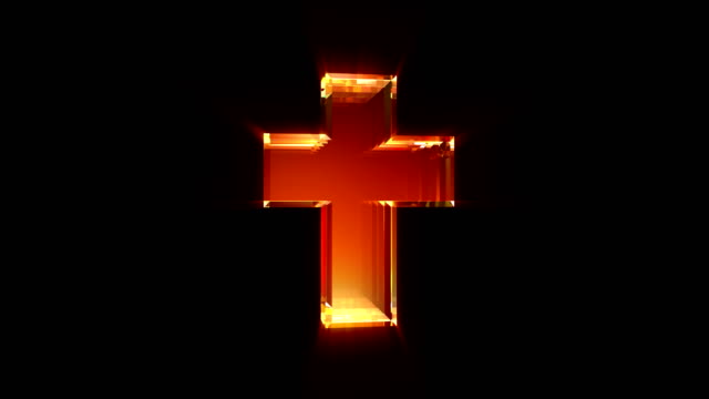 cross 4k loop - religious cross stock videos & royalty-free footage