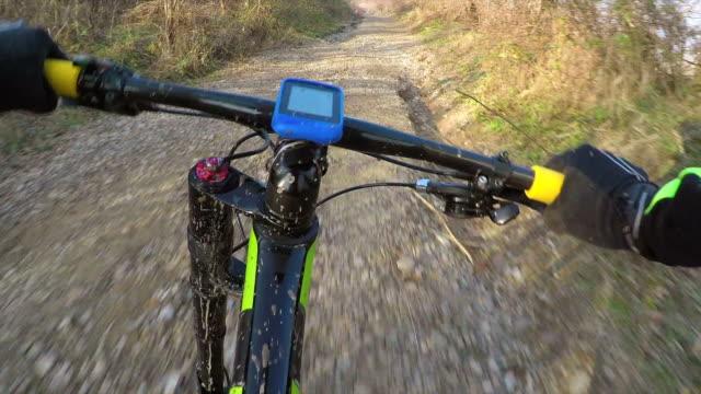 POV Cross country cycling.