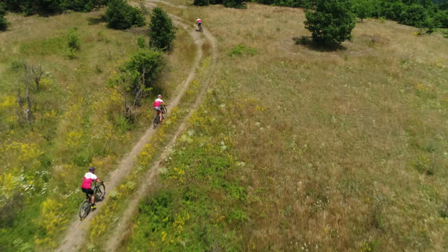 Cross country cycling