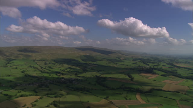 cross fell and milburn village - pennines stock videos & royalty-free footage