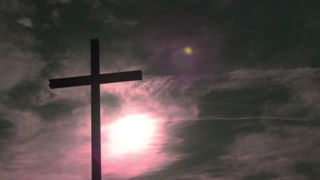Cross in Front of Purple Sky (PAN and TL)